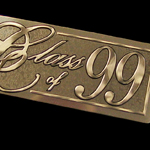 class of 1999 yearbook nameplate