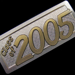 class of 2005 yearbook nameplate
