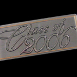 class of 2006 yearbook nameplate