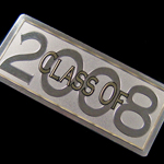 class of 2008 yearbook nameplate