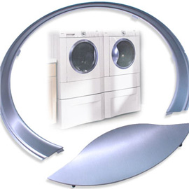Aluminum Appliance Trim | Electrolux Washer