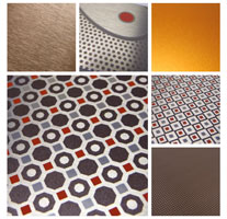 Geometric Aluminum Finishes