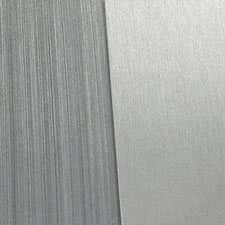 grey brushed aluminum