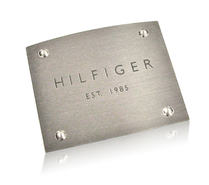 Hilfiger Cologne Bottle Nameplate