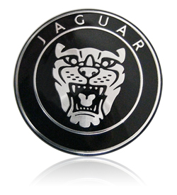 Jaguar Steering Badge