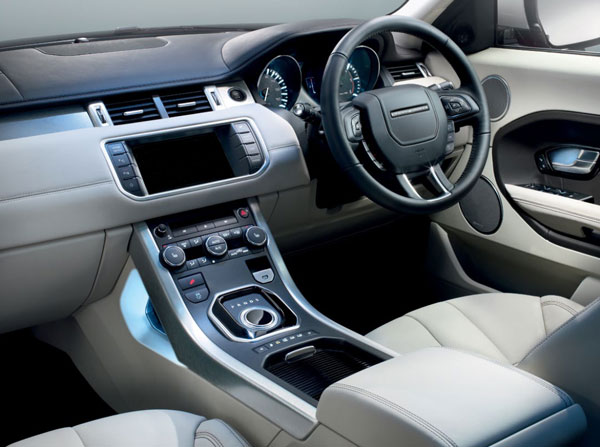Land Rover Evoque Interior