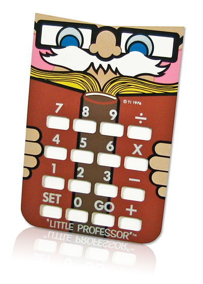 Little Professor aluminum overlay