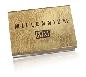 Millennium matchbox | distressed finish