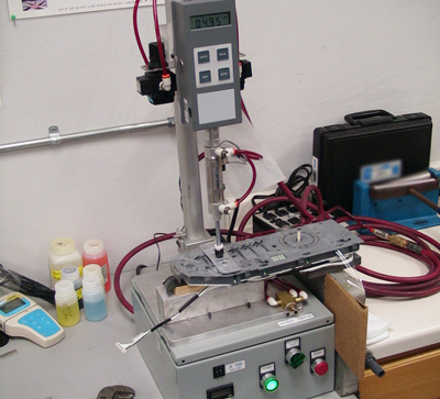 nameplate testing equipment