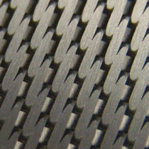 aluminum carbon fiber finish
