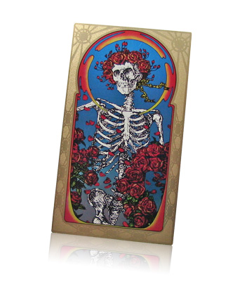 Grateful Dead the Golden Road Boxed Set aluminum insert