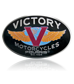 Victory Motorcycle Badge