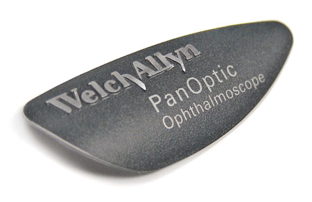 Welch Allyn PanOptic nameplate