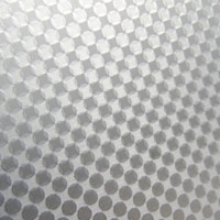 circular brushed pattern