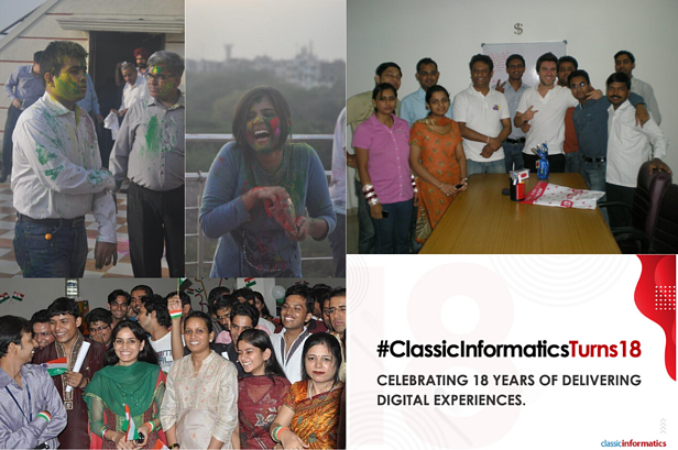 Classic Informatics Turns 18- The Employees' Story