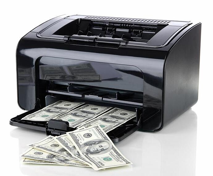 cheap printers waste money