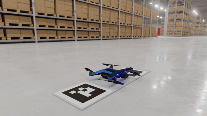 Drone on launchpad - Ware