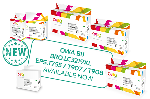 New products in the OWA BUSINESS INKJET range