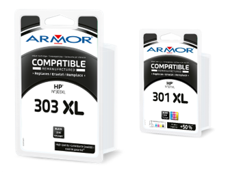 New products in the Armor range of inkjet cartridges - June 2019