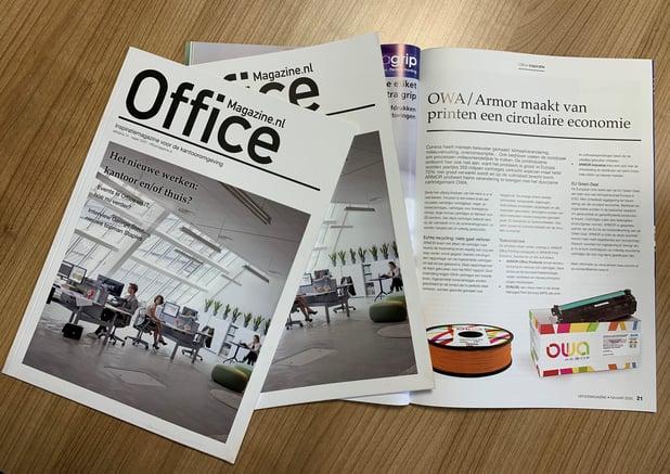 Office Magazine schrijft over ambities van OWA