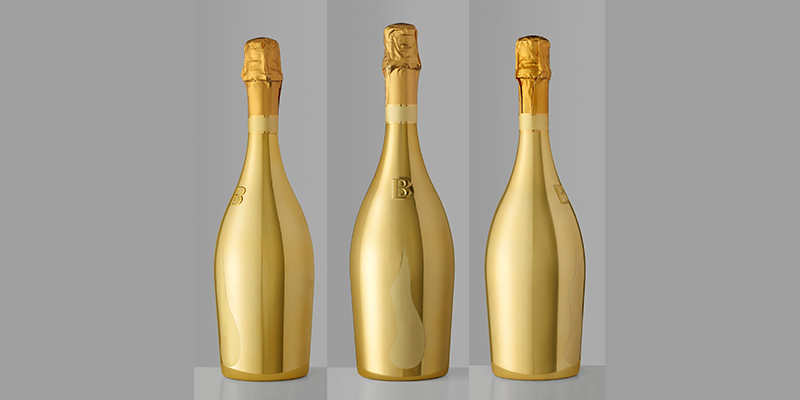 Golden bottles & 3D trademarks