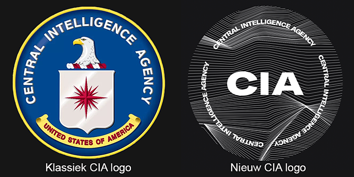 Het nieuwe CIA-logo: verdediging of beschuitrol?