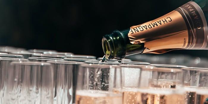 Champagne is dé BOB