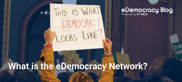 eDemocracy Network - This is what democracy looks like?