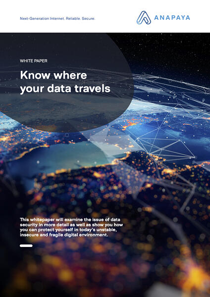 Know where your data travels