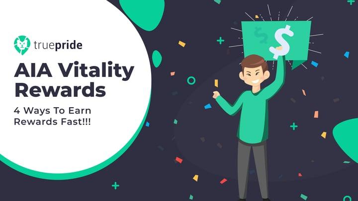 AIA Vitality Rewards - 4 Ways To Earn Rewards Fast!!!