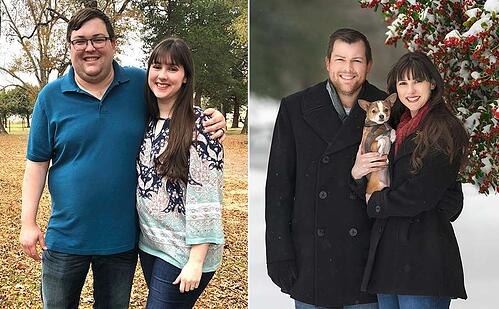 Couple Loses 180 Pounds Together