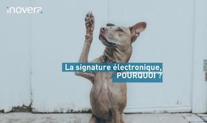 La signature électronique par Inovera