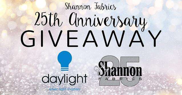 shannon 25th anniversary giveaway