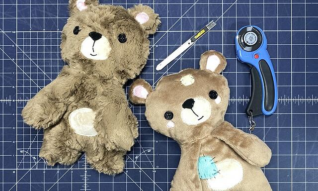 How to Sew a Cuddle® Teddy Bear (Melly & Me Buddy Sewing Tutorial)