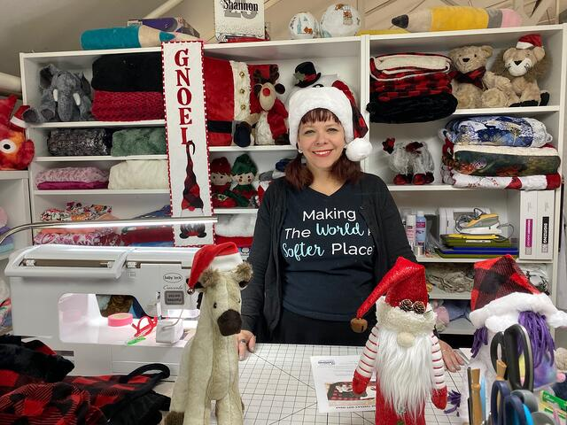 """""""Christmas in July"""" Sewing Project Inspiration"""