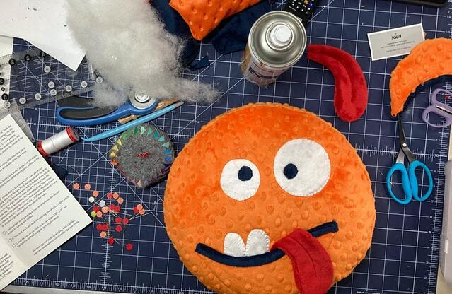How to Sew a Silly Cuddle® Monster Pillow (Video Tutorial & Free Pattern)