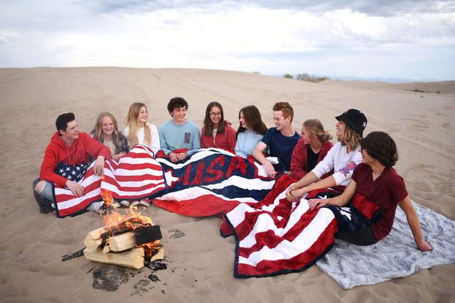 American-Themed Fourth of July Cuddle® Minky Plush Fabrics