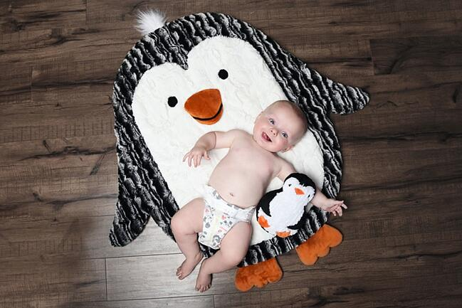 "How to Sew the My Pal ""Pat the Penguin"" Cuddle® Kit"
