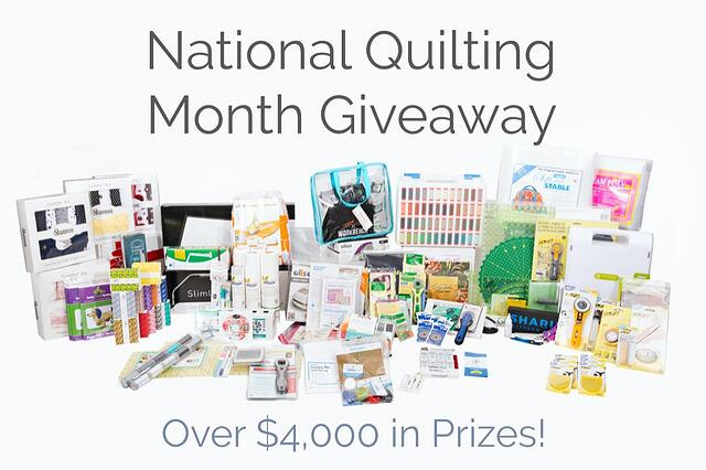 2021 Ultimate National Quilting Month Giveaway