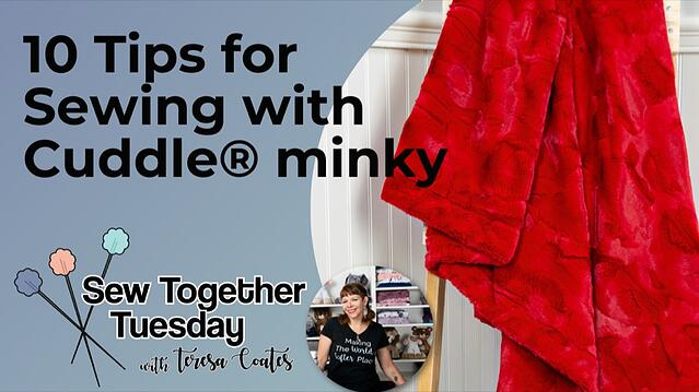 10 Must-Try Minky Fabric Sewing Tips