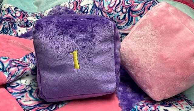 how to sew a baby block (cuddle cube)