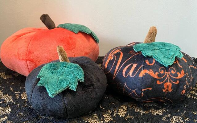 how to sew a pumpkin tutorial