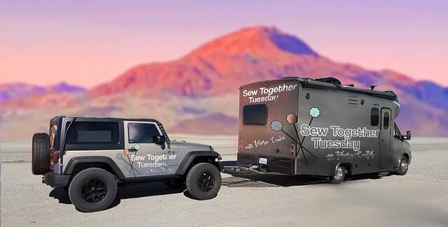 Our Sew Together Tuesday LIVE Video Series is Hitting the Road!