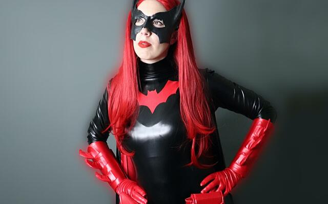 batwoman cosplay costume tutorial
