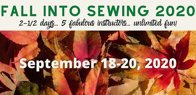 fall into sewing retreat