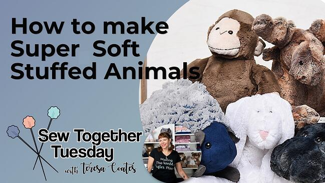 How to Make Stuffed Animals Out of Cuddle® Minky Plush Fabric