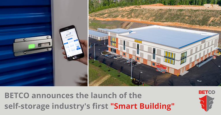 """BETCO Inc. Constructs First """"Smart Building"""" in the Self-Storage Industry"""