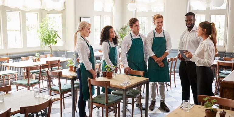 junta de personal para gestión de un restaurante