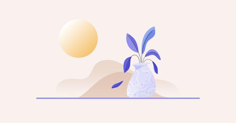 Illustration for subtle signs of burnout with general change in behavior