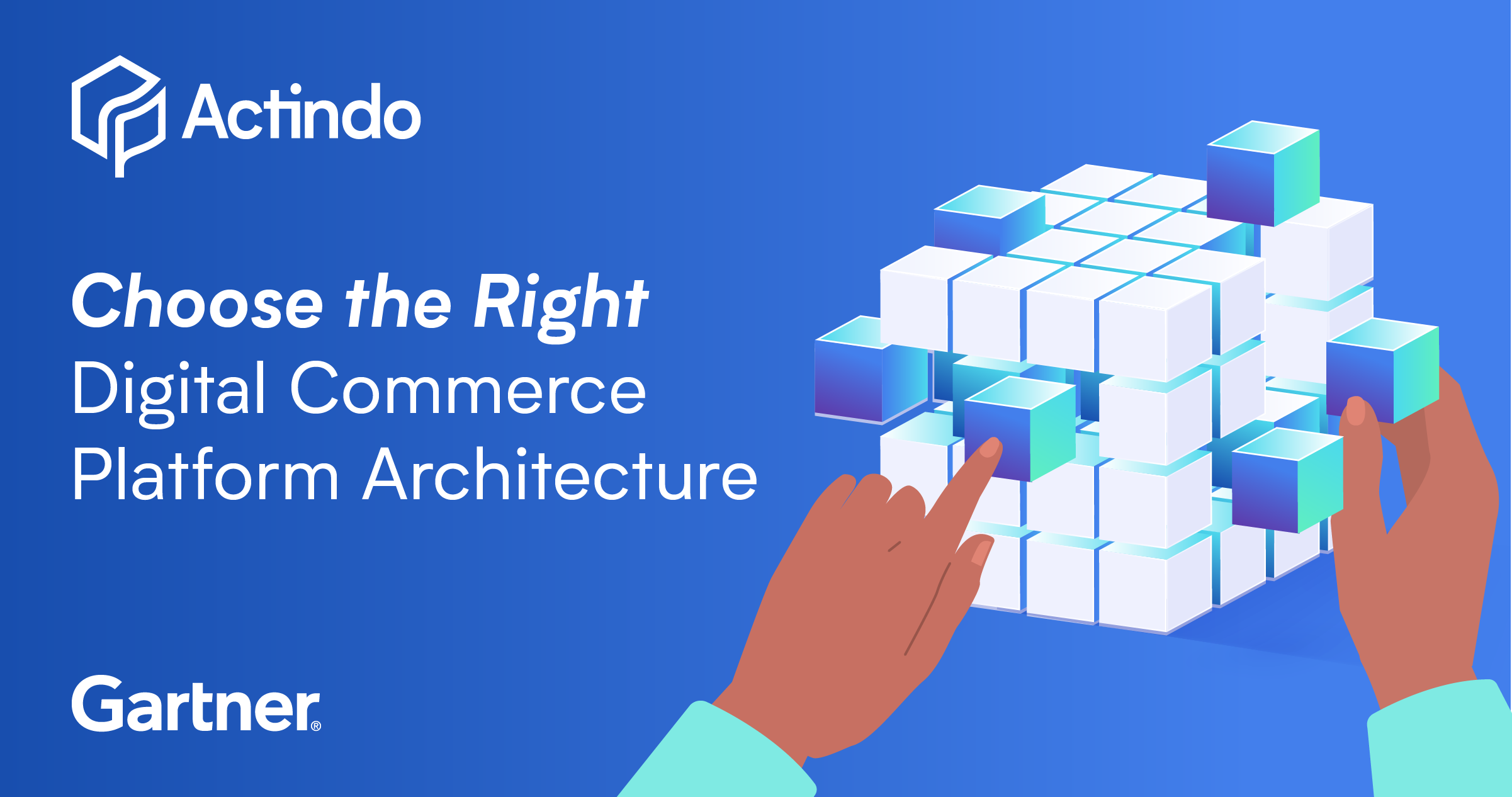 Actindo_Gartner_DigitalCommercePlatformArchitecture